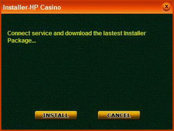 จากนั้นให้ Double Click ที่ไอคอน gameUpdate_English.exe แล้วกุดปุ่ม Install เพื่อทำการติดตั้ง Holiday Palace