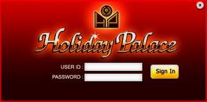 ใส่ User และ Password ตามที่เราให้ไว้ข้างบน (ใช้ในการทดสอบเท่านั้น) แล้วกดปุ่ม Sign In เข้าสู่เกมส์ Holiday Palace