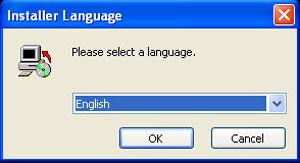 จากนั้นให้ Double Click ที่ไอคอน Setup_th_th.exe เพื่อเข้าสู่โปรแกรม จะมีให้เราเลือกภาษา (ให้เราเลือกภาษาที่เราต้องการ)